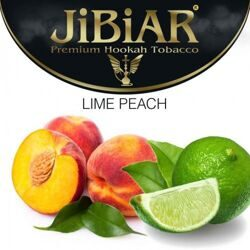 "Табак JiBiAR ""Lime Peach"" ЛАЙМ ПЕРСИК - 100g"