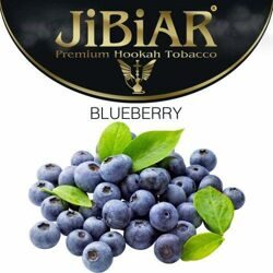 "Табак JiBiAR ""Blueberry"" ЧЕРНИКА - 100g"