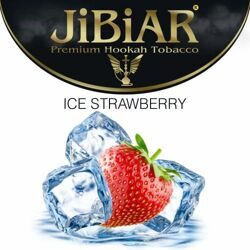 "Табак JiBiAR ""Ice Strawberry"" ЛЁД КЛУБНИКА - 100g"