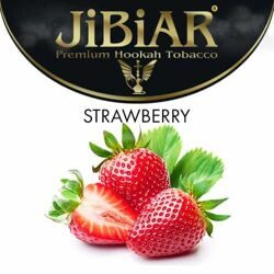 "Табак JiBiAR ""Strawberry"" КЛУБНИКА - 100g"