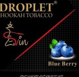 "Табак DROPLET ""Blue Berry""  ГОЛУБИКА - 50g"