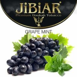 "Табак JiBiAR ""Grape Mint"" ВИНОГРАД МЯТА - 100g"