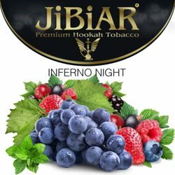 "Табак JiBiAR ""Inferno Night"" АДСКАЯ НОЧЬ - 100g"