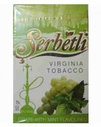 "Табак Serbetli ""Grape With Mint"" (Виноград с Мятой) - 50g"
