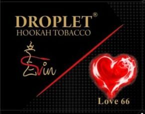 "Табак DROPLET ""Love 66""  ЛЮБОВЬ 66 - 50g"